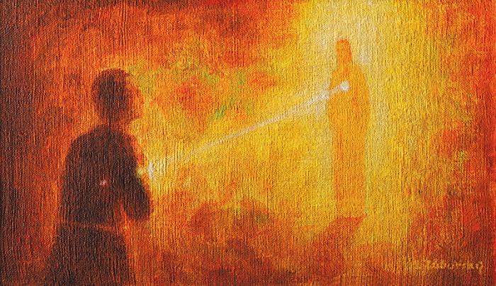 Eucharistia - akad. maliar Ladislav Záborský