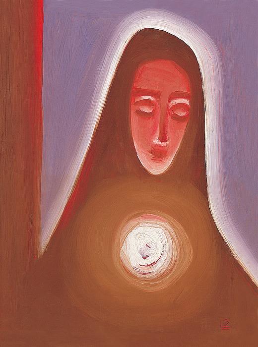 Panna Mária 2 - akad. maliar Ladislav Záborský