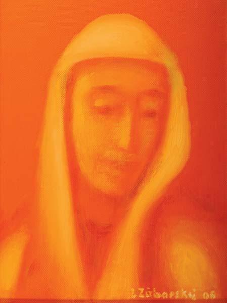 Panna Mária - akad. maliar Ladislav Záborský