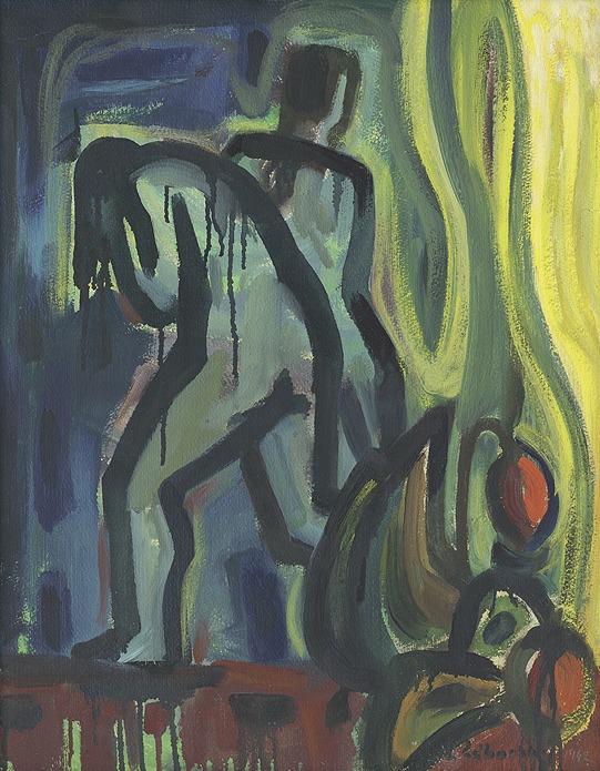 Vyhnanie z raja - akad. maliar Ladislav Záborský