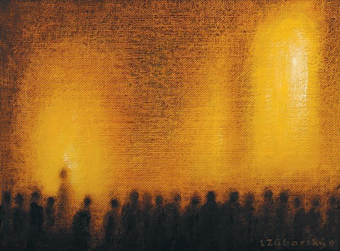 Zasiahnutý svetlom - akad. maliar Ladislav Záborský