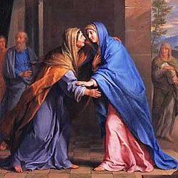 Mária u Alžbety (Lk 1, 39-56)